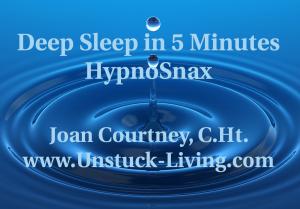 Deep Sleep in 5 Minutes HypnoSnax
